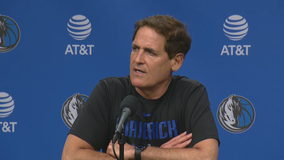 Mavericks owner Mark Cuban says he hopes to join players who take a knee during national anthem