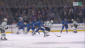 O'Reilly scores only goal in shootout, Blues beat Stars 4-3