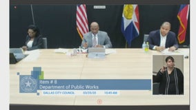 Dallas city council members meet remotely for weekly public meeting
