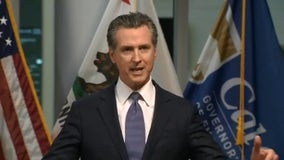 California governor issues statewide stay-at-home order