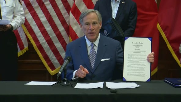 Gov. Abbott expands mandatory self-quarantine to include those driving into Texas from Louisiana