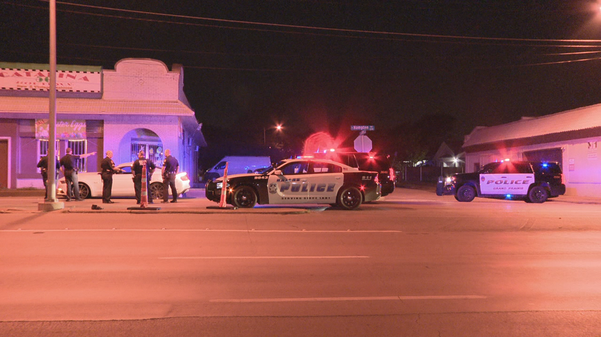 Driver arrested after leading Grand Prairie police on high speed chase into Dallas