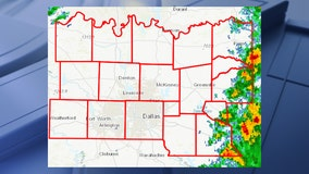 Tornado Watch issued for much of North Texas until 9 p.m. Wednesday