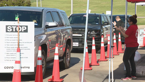Two new drive-thru COVID-19 testing sites open in Tarrant County