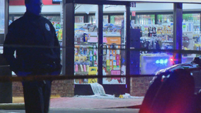 Officer fatally shoots armed man at Irving 7-Eleven