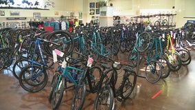 Bike shops experiencing surge in sales due to coronavirus pandemic