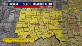 North Texas upgraded to 'Moderate Risk' for severe weather Tuesday night