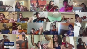 Frisco orchestra students give innovative virtual performance