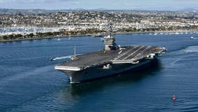 Navy to widen USS Roosevelt probe, delaying decision on commander