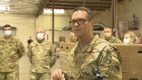 Four-Star National Guard General visits Tarrant Area Food Bank