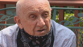 Holocaust survivor surprised outside his Dallas home on 75th anniversary of liberation