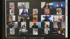 Wilmer-Hutchins H.S. seniors reconnect in virtual lunchroom