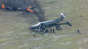 Single-engine plane crashes near Mesquite shortly after take off from DFW Airport