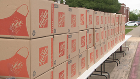 North Texas churches continue giving away meals to families in need due to COVID-19 pandemic