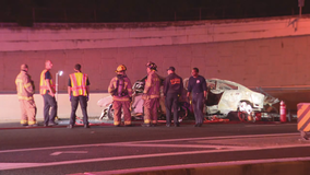 3 people killed in wrong-way crash on Dallas North Tollway