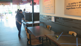 Restaurants across North Texas getting ready to partially reopen for in-person dining on Friday