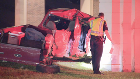 Police believe speed was factor in overnight deadly Mesquite crash