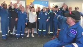 Over 40 employees lived at their plant for 28 straight days to produce COVID-19 protective gear