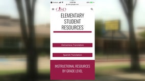Garland ISD creates multi-lingual online learning website for ESL students