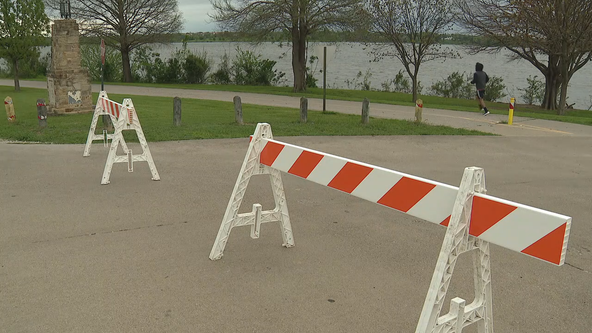 Changes made at Dallas parks, trails to make sure people are practicing social distancing