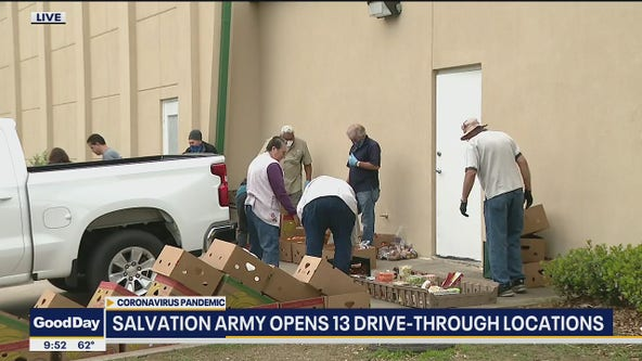Salvation Army opens 13 drive-thru grocery locations