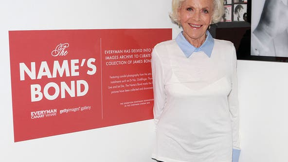 Honor Blackman, who played Bond's Pussy Galore, dies at 94