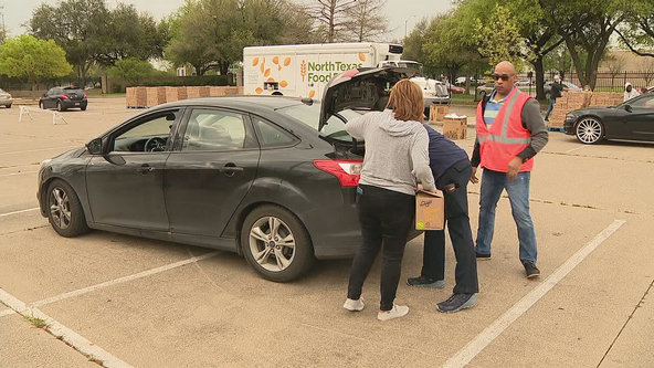 National Guard helping North Texas Food Bank go mobile to meet high demand