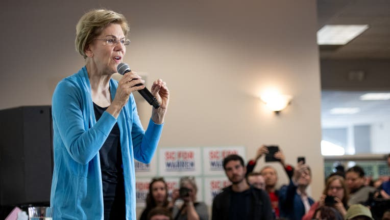 Presidential Candidate Elizabeth Warren Campaigns In South Carolina On Day Of State's Primary