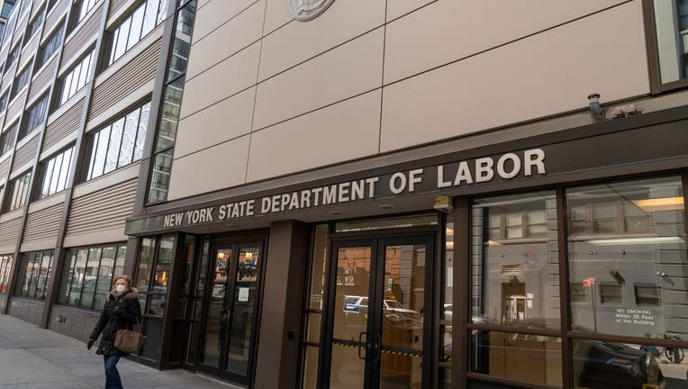 View of Brooklyn office of NYS Department of Labor as