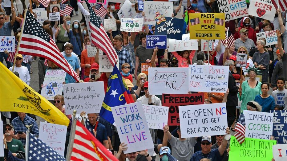 Protest in North Carolina