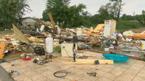 NWS confirmed two tornadoes in North Texas during Saturday's storms