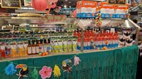 Grocery store fills salad bar with alcohol, candy during pandemic restrictions