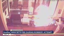 Investigators: Man tried to set clerk on fire during robbery attempt