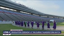 Backup plans in place as graduation ceremonies continue at Texas Motor Speedway