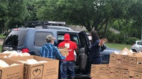 Minnie's Food Pantry partners with Plano ISD for food drive thru