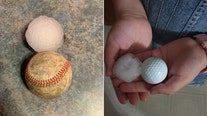 Storms drop large hail, cold front follows for Friday