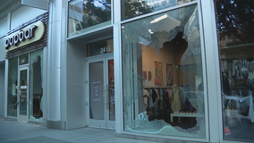 More Dallas businesses cleaning up after being vandalized, looted following Saturday's protest