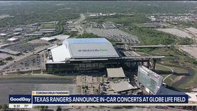 Texas Rangers to hold in-car concert at Globe Life Field
