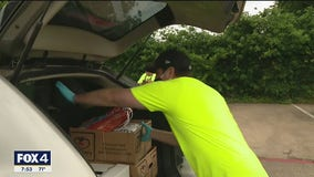 Mint Dentistry hosts food drive to provide meals for hundreds of North Texas families