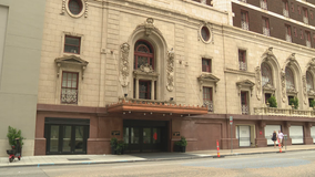 The Adolphus Hotel in Downtown Dallas has reopened with social distancing practices in place