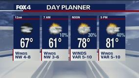 May 26 overnight forecast