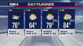 May 27 afternoon forecast