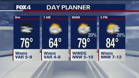 May 27 overnight forecast
