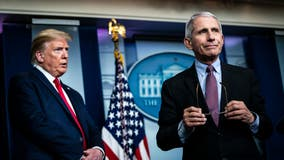 Trump's push for opening school clashes with Fauci's caution