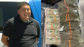 Teen invited to apply for police job after finding $135,000 in cash on the ground and turning it in