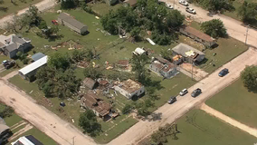 NWS confirms EF-1 tornado in Bowie during Friday night's storms