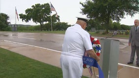 Private Memorial Day ceremony held at DFW Cemetery
