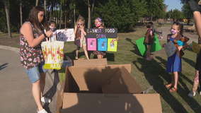 Girl Scout troop collects canned goods for Frisco food pantry