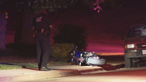 Motorcycle rider hit by gunfire on Dallas street