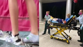 Houston-area cheerleader hospitalized after snake bite that was caught on video